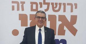 """מאיר תורג'מן מכריז על התמודדותו על ראשות העיר (צילום: יח""""צ)"""