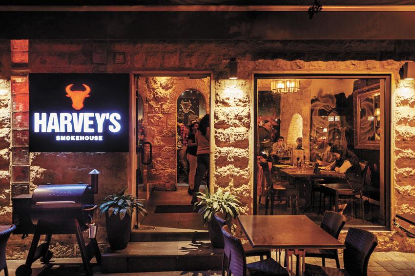 מסעדת HARVEY'S (צילום: Andrew Malakhovsky)