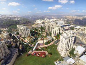 שכונת נוה אליהו, סמוך לגבעת שאול (הדמיה: משרד אדריכלים נחום מלצר)