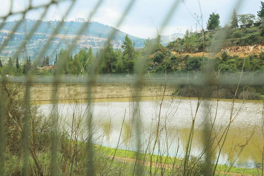 סכר בית זית (צילום: ארנון בוסאני)