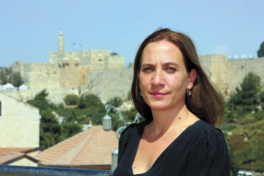 ענת צור (צילום: ששון תירם - באדיבות הקרן לירושלים)