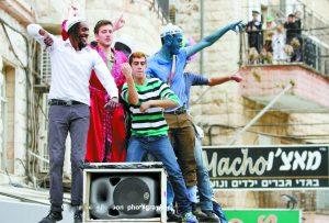 חג פורים בירושלים (צילום: אורן בן-חקון)