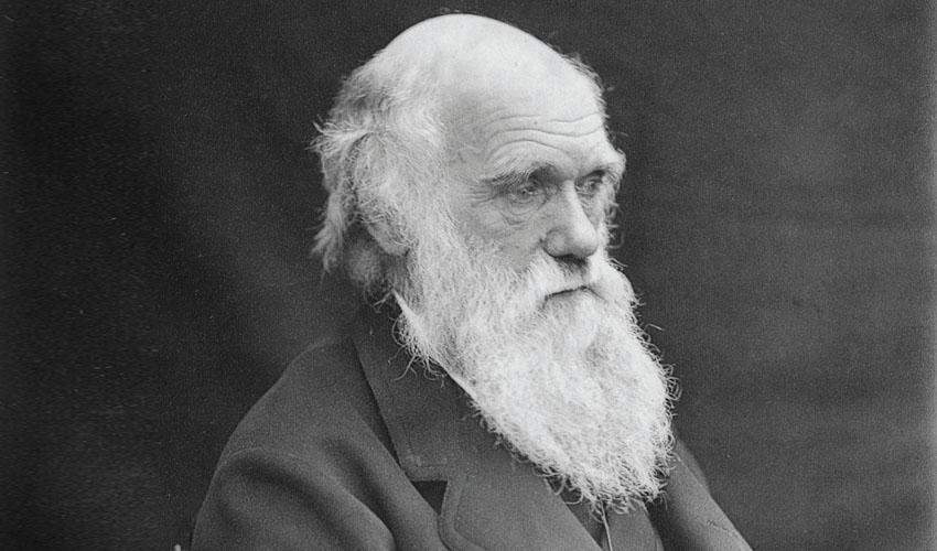 צ'רלס דרווין (צילום: באדיבות האקדמיה למדעים)