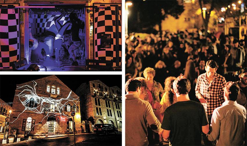 """וידאו – ימי שני: פסטיבל הרחוב """"שאון חורף"""" חוזר לעיר"""
