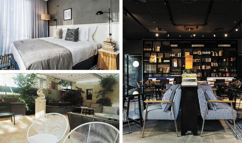 """מלון בצלאל (צילומים: סיון אסקיו, יח""""צ)"""