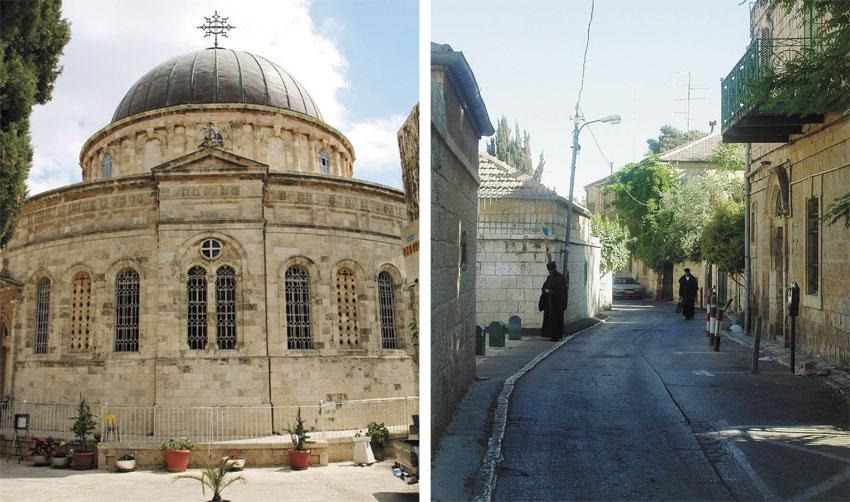 רחוב אתיופיה, הכנסייה האתיופיות (צילומים: Magister, DMY)