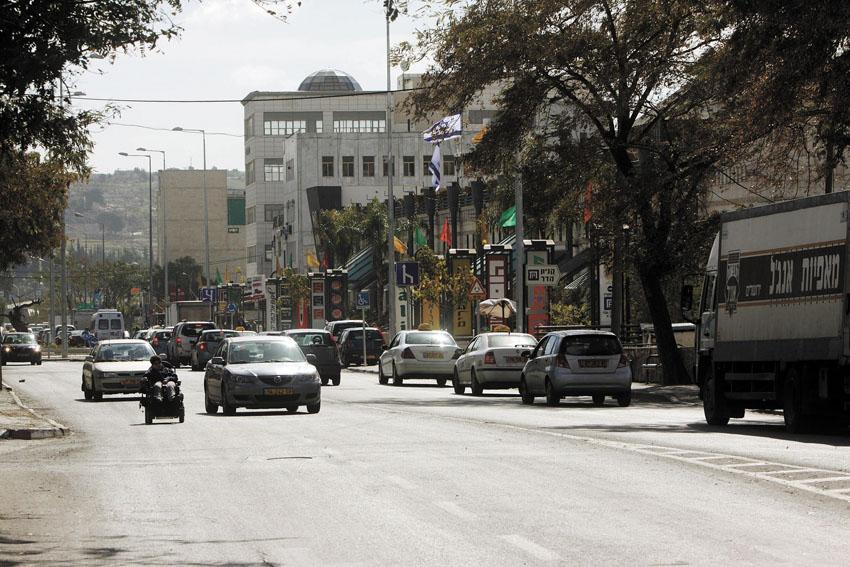 רחוב פייר קניג (צילום: אמיל סלמן-ג'ני)