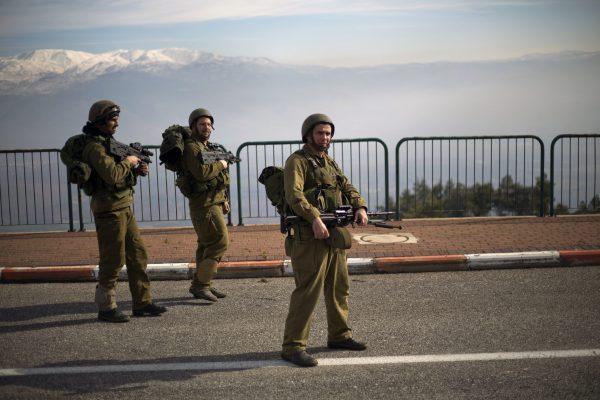 חיילי מילואים (צילום:Ariel (Schalit AP