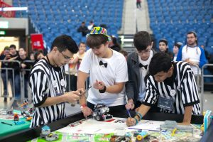 תחרות הרובוטיקה בירושלים (צילום: First ישראל)