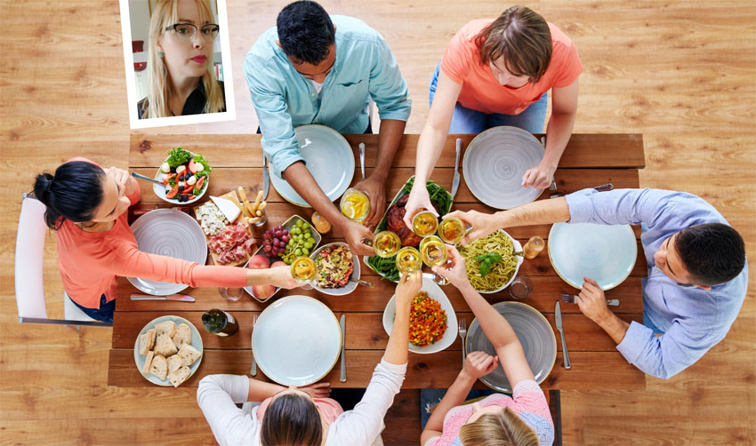 ארוחה משפחתית, שרון בן דור (צילומים: אילוסטרציה א.ס.א.פ קריאייטיב/INGIMAGE, עצמי)