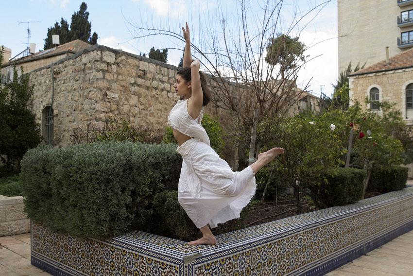 """מתוך המופע """"גוף, מחול, מקום"""" (צילום: עיריית ירושלים)"""