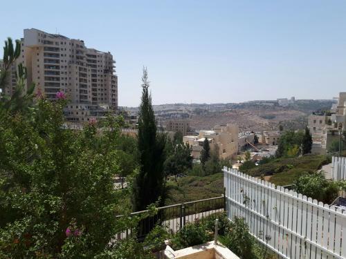 הנוף מהקוטג' ברחוב פנחס רוזן, רמת שרת (צילום: שרית אליאסף, מיכל הראל)