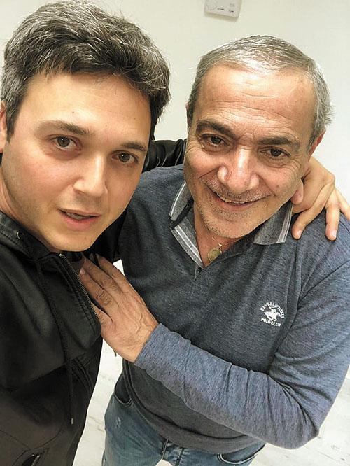 ישראל בונדק ובן ארצי (צילום: עצמי)