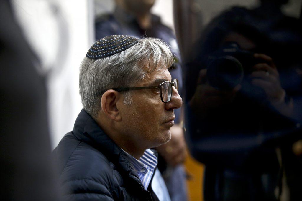 מאיר תורג'מן בהארכת המעצר (צילום: מגד גוזני)