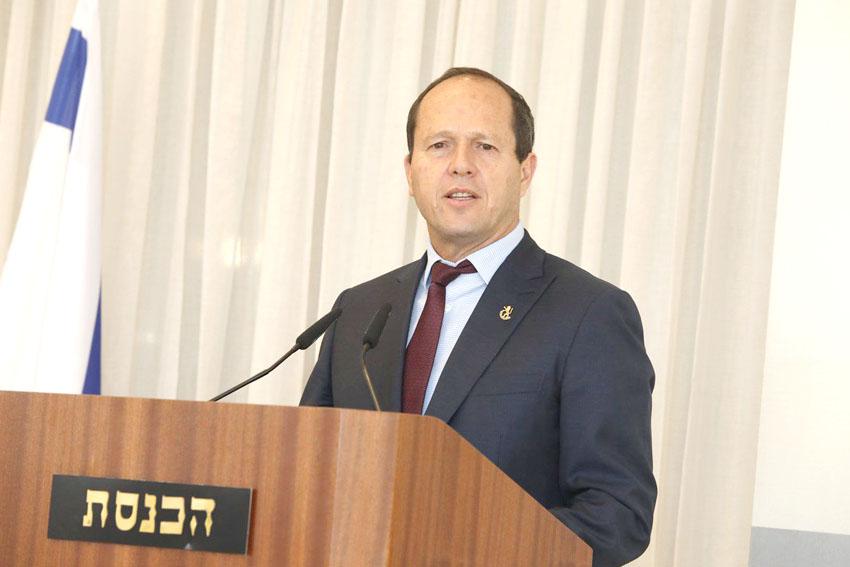 ראש העיר ניר ברקת (צילום: דוברות הכנסת, יצחק הררי)