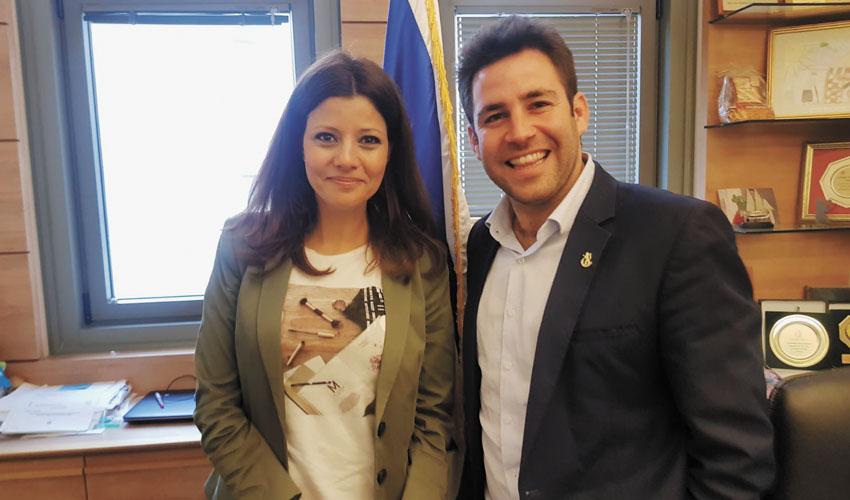 עופר ברקוביץ ואורלי לוי-אבקסיס (צילום: פרטי)