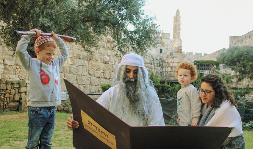 פסח במוזיאון מגדל דוד (צילום ריקי רחמן)