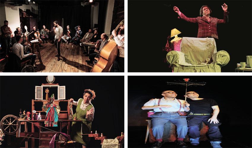 """המופע """"כאלימת"""", ההצגה """"גולדה - הדיירת האחרונה"""", ההצגה """"עמו אוסאמה"""", ההצגה """"בגדי המלך החדשים"""" (צילומים בן רייזר, אבי גולרן, דאפי ספונר, יח""""צ)"""