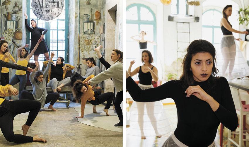 """מתוך המופע """"גוף, מחול, מקום"""" (צילומים: עיריית ירושלים)"""