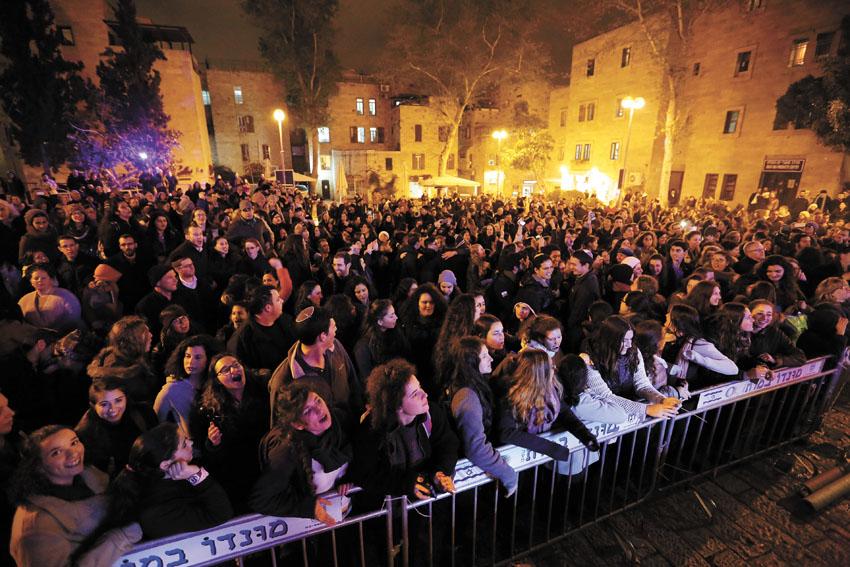 פסטיבל צלילים בעתיקה בשנה שעברה (צילום: קובי שרביט)