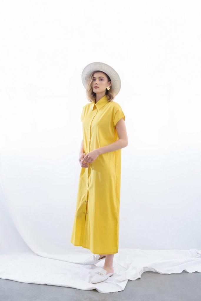 שמלת אנה ביריד SHEEK ME (צילום: טל ברושל)