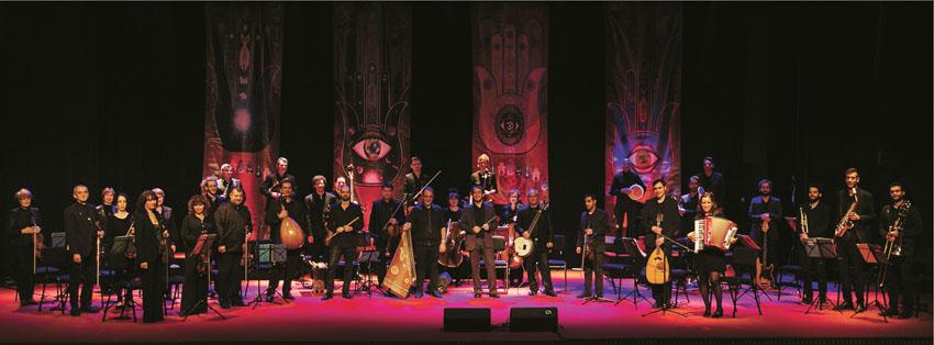 תזמורת ירושלים - מזרח ומערב (צילום: עידו כהן)