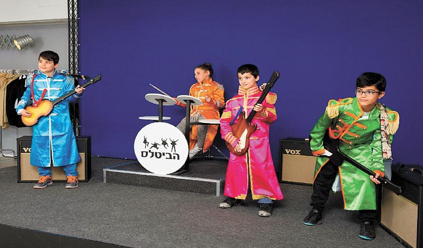 תערוכה על הביטלס במוזיאון הילדים בחולון (צלם מושי גיטליס)