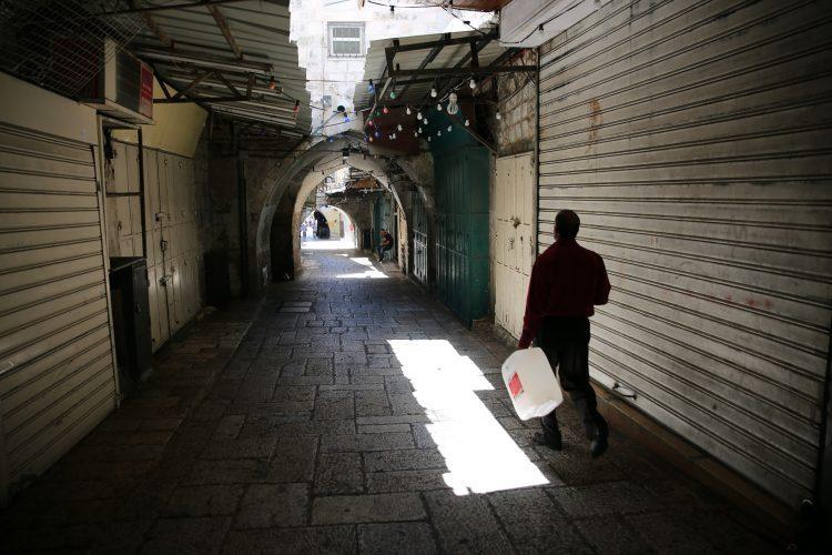 רחוב הגיא, העיר העתיקה בירושלים (צילום: אמיל סלמן)