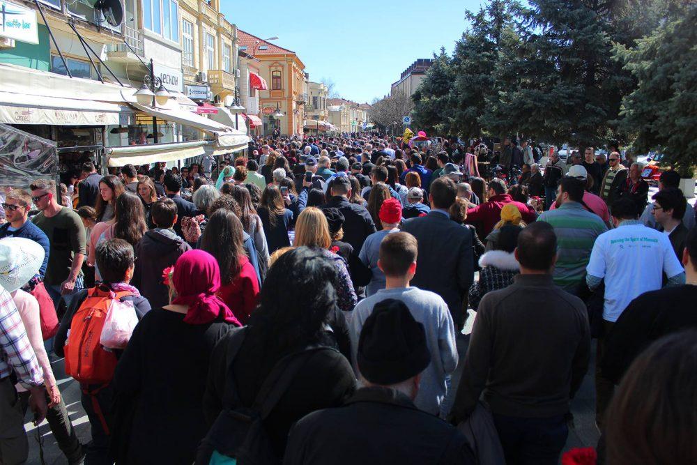 """צעדת החיים במקדוניה (צילום: יח'""""צ עזריאלי מכללה אקדמית להנדסה)"""