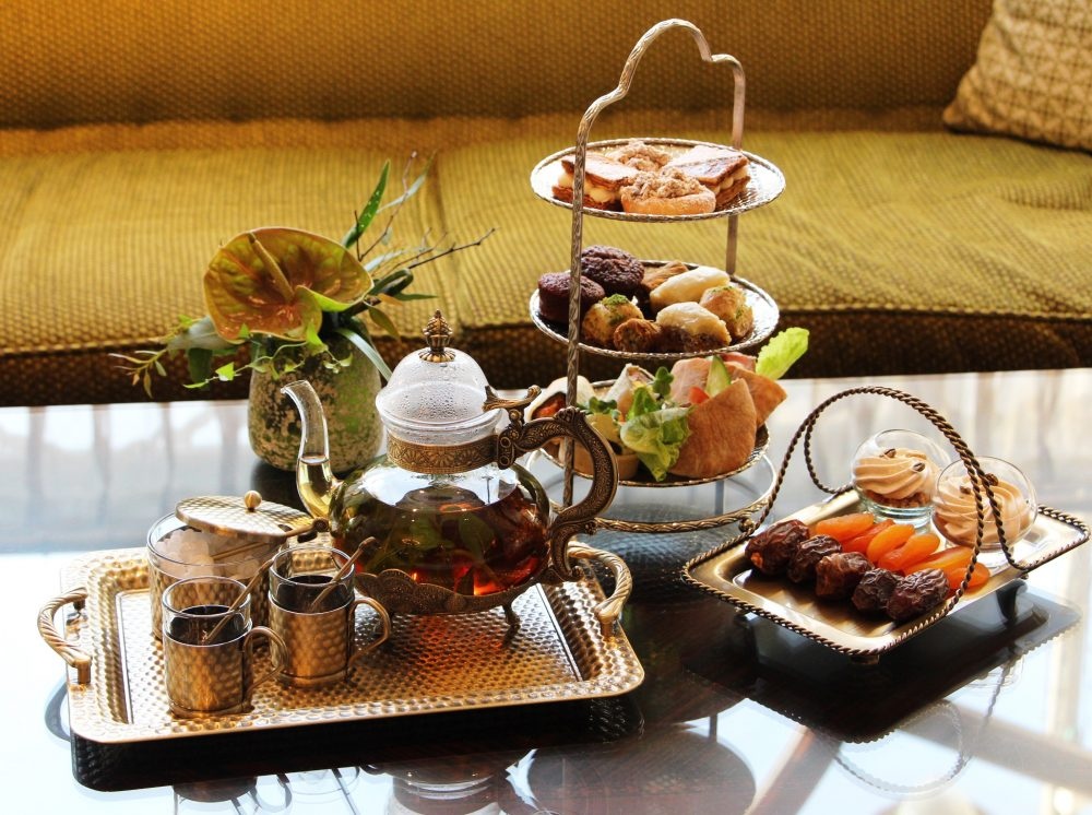 תה מנחה בוולדורף אסטוריה (צילום: באדיבות וולדורף אסטוריה)