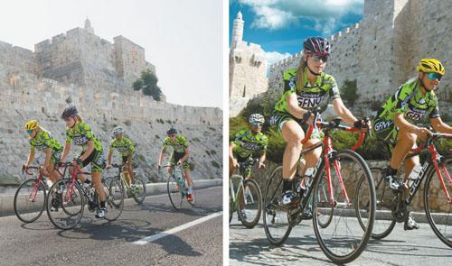 מרוץ אופניים בירושלים (צילום: רונן טופלברג)