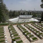 בית העלמין הצבאי בהר הרצל (צילום: אוליבייה פיטוסי)