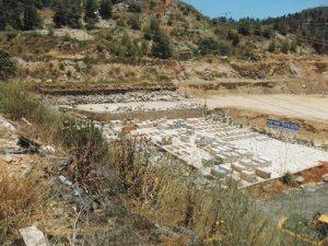 מתחם הקבורה של חברת אוויסון (צילום: עיריית ירושלים)