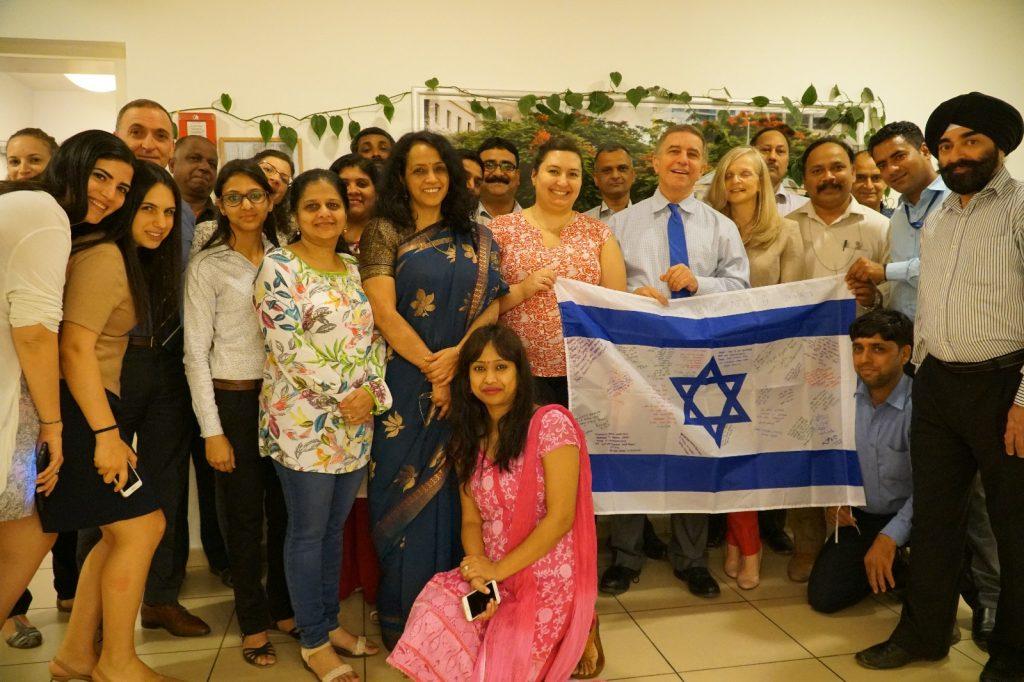 ניו דלהי, הודו - מיזם עולים לדגל בגבעת התחמושת (צילום: גבעת התחמושת)