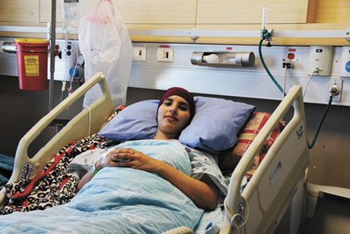 צדקה רזאן (צילום: דוברות הדסה)