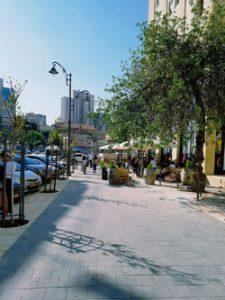 רחוב בן סירא המשודרג (צילום: ד''ר אופיר לנג)