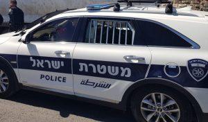 ניידת משטרה (צילום: דוברות המשטרה)