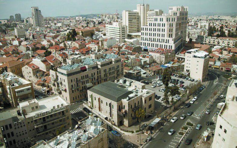 מרכז העיר ירושלים (צילום: סיון גיל)