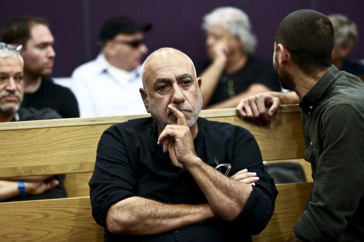 ניסו שחם, בעת הכרעת הדין בבית משפט השלום בתל אביב (צילום: מגד גוזני)
