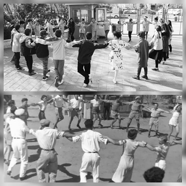 תלמידי השלום במבשרת משחזרים ריקוד הורה