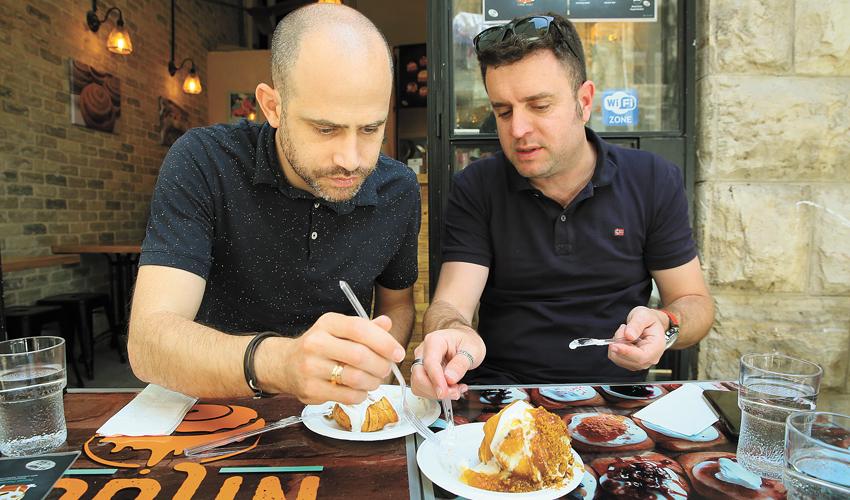 ספיישל חג שבועות ירושלמי, אבל עם טוויסט: סבב מתוקים בשוק מחנה יהודה