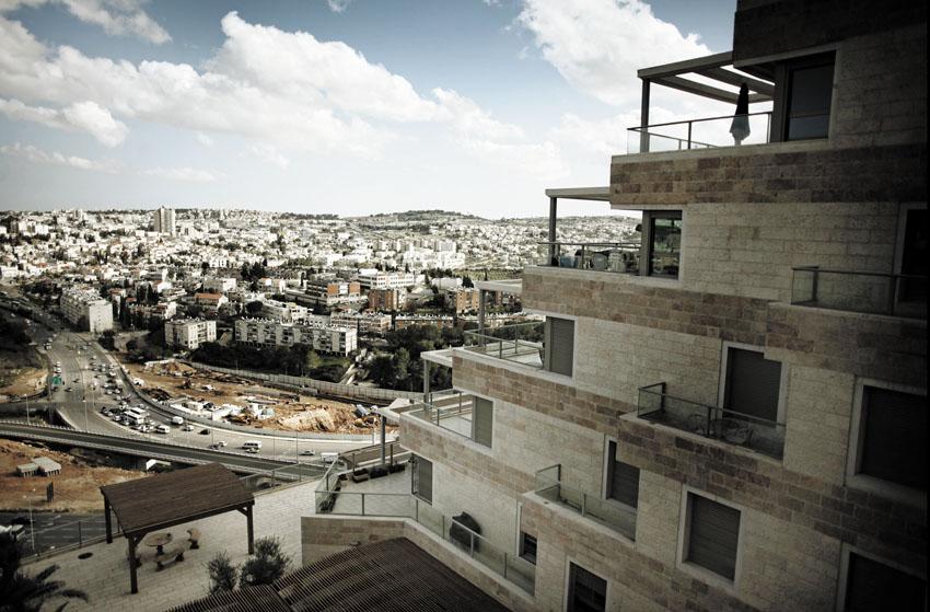 בנייה בירושלים (צילום: יובל טבול)
