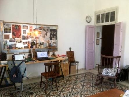 הדירה ברחוב עמק רפאים (צילום: סוזן לרנר)