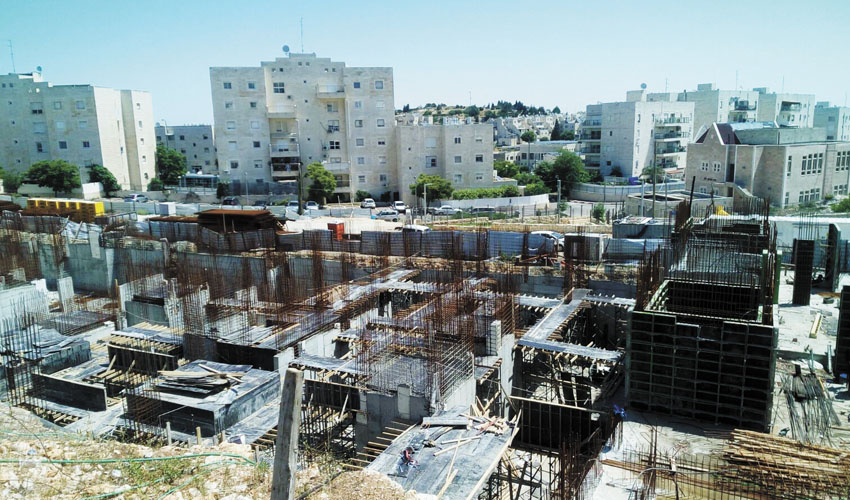 """פסגת זאב: החל שלב בניית הדירות בפרויקט """"יורו בפסגה"""""""