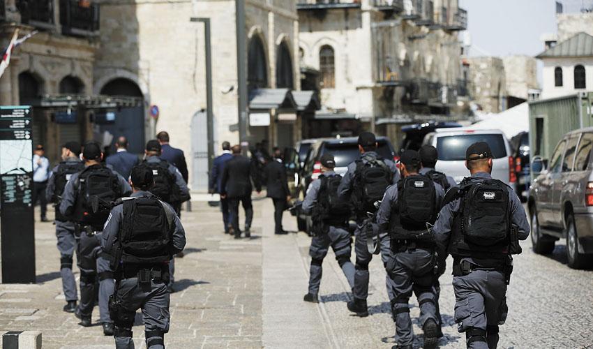 כוננות משטרה (צילום: דוברות המשטרה)