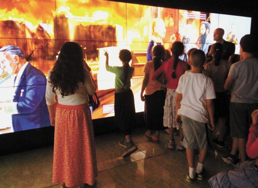 """מוזיאון ידידי ישראל (צילום: יח""""צ)"""