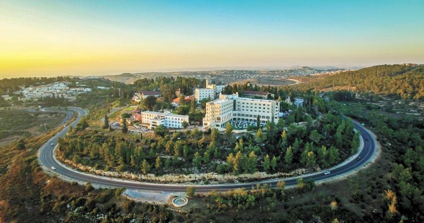 מלון יערים בהרי ירושלים (צילום: אדי ישראל)