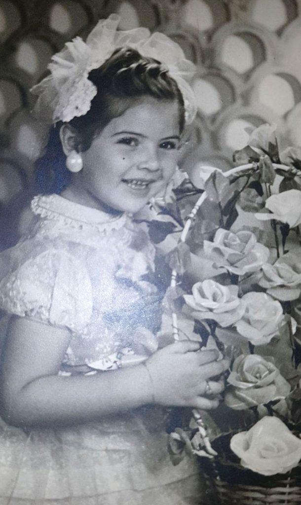 בגיל 5 (צילום: באדיבות פנינה עין מור)