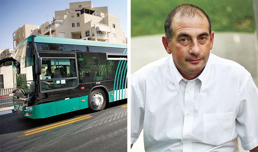 יוסי חביליו, אוטובוס אגד (צילומים: מיכל פתאל, תומר אפלבאום)