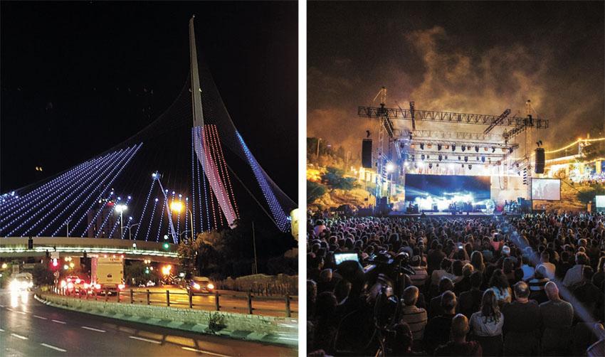 אירועי יום ירושלים בשנה שעברה (צילומים: סוכנות הצילום שמואל כהן, עיריית ירושלים)